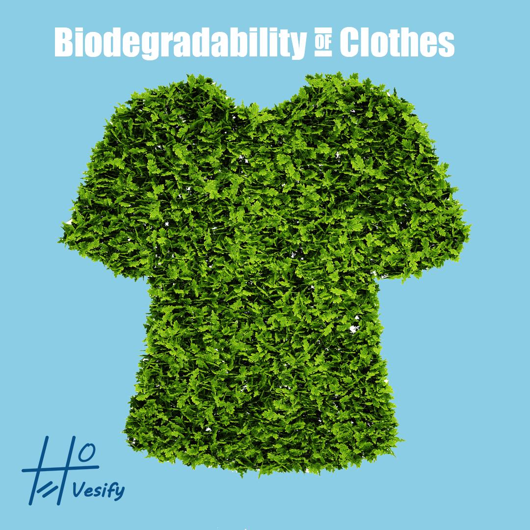 Clothes biodegradability